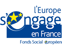 Logo L'Europe s'engage en France - Fonds Social Européen
